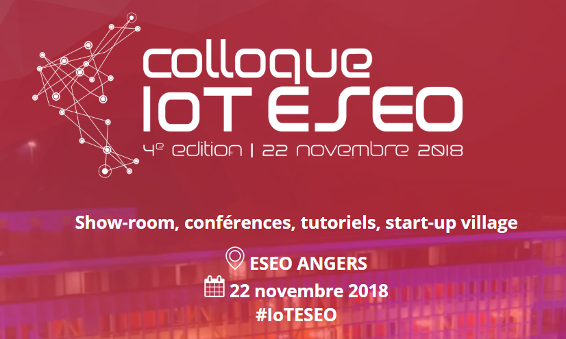 Nke Watteco participates in the IoT ESEO conference